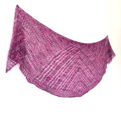 no frill lace shawl